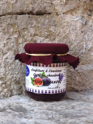 Confiture de figue-lavande - Pot de 220 g