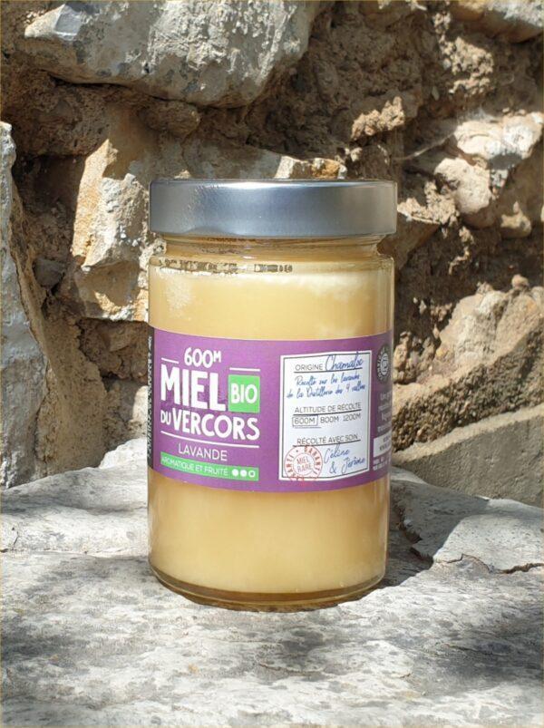 Pot de miel de lavande BIO 400 g