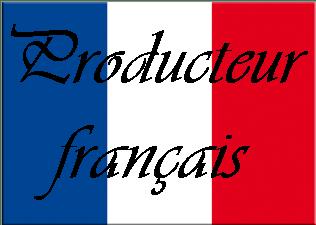 Drapeau français écrit